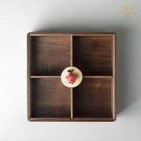 銅師傅 正版授權《憤怒的小鳥》黑胡桃糖果盒 原木 黃銅小鳥裝飾