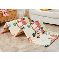 迪士尼(Disney)爬行垫加厚宝宝折叠爬爬垫XPE双面婴儿爬行地垫 维尼数字 维尼童话180*200*1.5CM