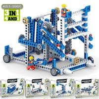 移动专享:凡小熊 科教齿轮原理机械 拼装积木
