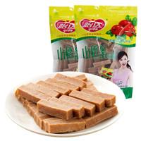 怡达 蜜饯果脯 山楂干 0添加山楂条520g袋果干制品儿童零食 *12件