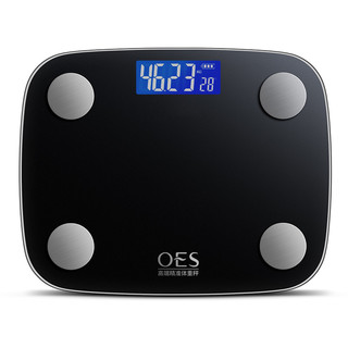 OES 智能测脂肪电子称 电池款