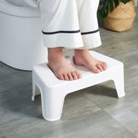京东PLUS会员 : 好尔垫脚凳创意办公搁脚凳脚踏塑料板凳马桶垫脚凳