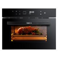 CASDON凯度SR60B-TD嵌入式蒸烤箱蒸烤一体机 高端智能电蒸箱烤箱家用电蒸炉二合一 烘焙可代替微波炉60L大容量