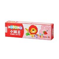 京东PLUS会员:LION 狮王 小狮王儿童牙膏 草莓味 50g *6件