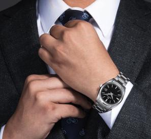 GrandSeiko冠蓝狮大精工 SBGX261G钢带石英腕表