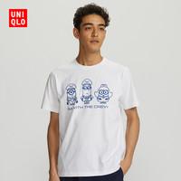 男装/女装/亲子装 (UT) Minions2 印花T恤(短袖) (小黄人) 423006