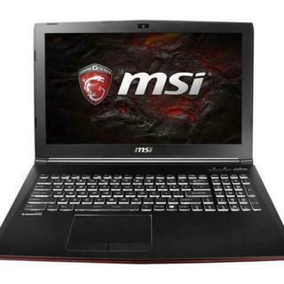 MSI 微星 GP62MVR Leopard Pro 15.6英寸 游戏本 黑色(酷睿i7-6700HQ、GTX 1060 6G、8GB、1TB HDD、1080P)