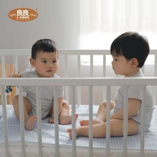 良良(liangliang) 婴儿凉席 夏季苎麻婴儿床苎麻幼儿园宝宝儿童加大凉席 天丝苎麻-小青蛙-绿 大号