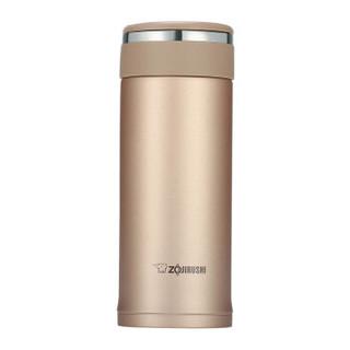 象印 ZO JIRUSHI 保温杯原装进口不锈钢真空保温保冷杯户外直身茶水杯子360ml JZ36-NM *2件