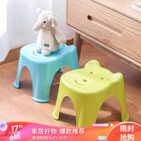 茶花 塑料凳子家用小板凳小凳子卡通儿童小椅子 0849 *7件