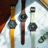 西鐵城 學院風太陽能手表