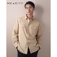 MECITY 527469 男士轻薄工装外套夹克衬衫