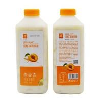 JIN SHI DAI 今时代  黄桃燕麦果粒 低温老酸奶 910g*2瓶 *2件