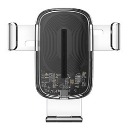 BASEUS 倍思 WXYL-K02 车载无线充电手机支架 15W 全透明款