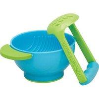 NUK 努克 健康材质 易清洗 不含BPA 土豆泥和自制婴儿辅食盒 研磨碗 研磨器 *8件