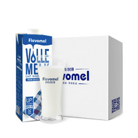 Flevomel 风车牧场 全脂高钙纯牛奶 1L*6盒 *4件