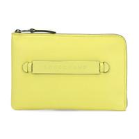 珑骧 LONGCHAMP 男女中性LONGCHAMP 3D系列牛皮iPad Mini保护套手拿包荧光色 4848 770 E77