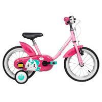 DECATHLON 迪卡侬 OVBK系列 8378276 儿童自行车 14寸 独角兽尤妮可