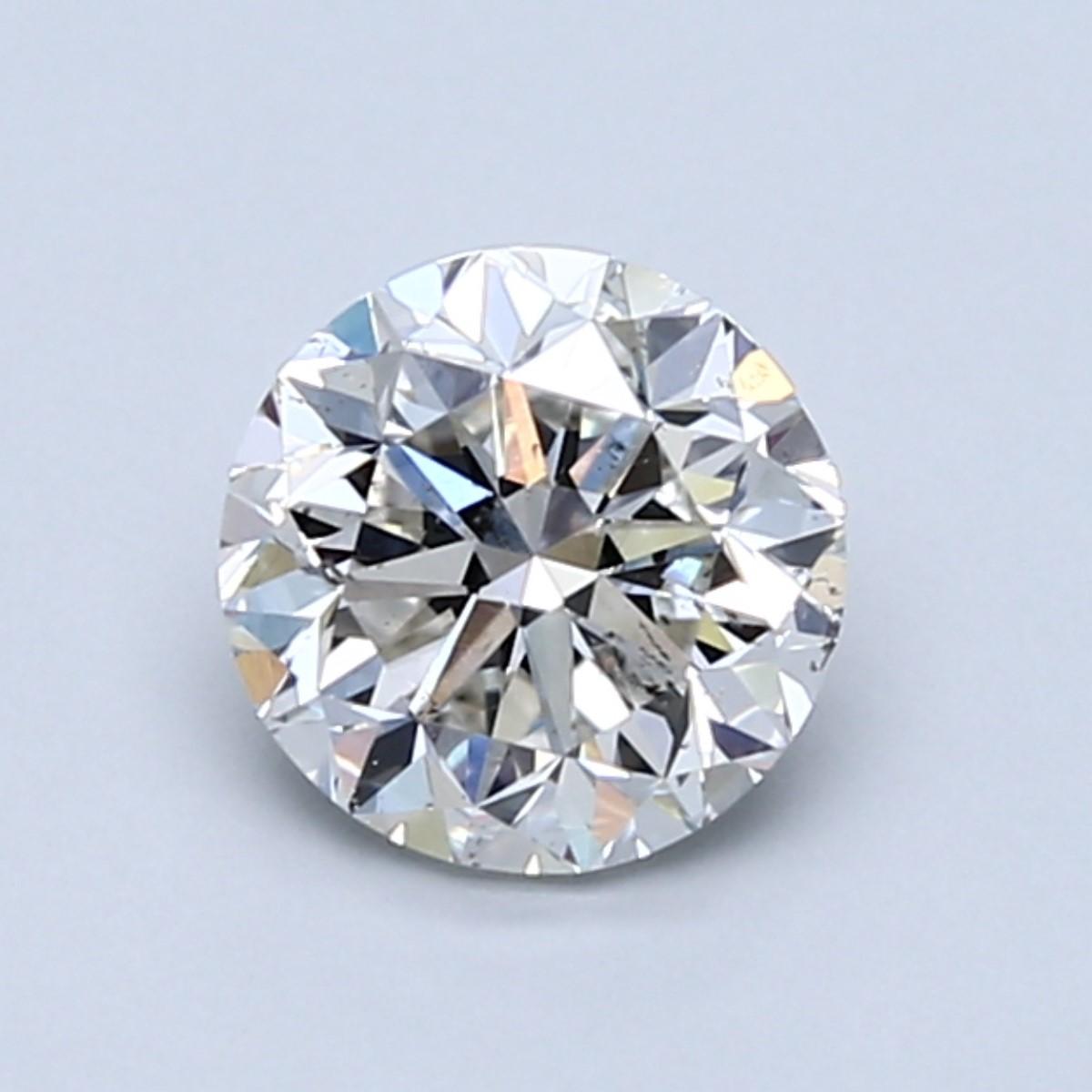 Blue Nile 1.01克拉圆形切割钻石(切工良好 成色I 净度SI1)