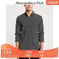 Abercrombie&Fitch男装 春夏潮流长袖纽扣式衬衫 302545-1 AF