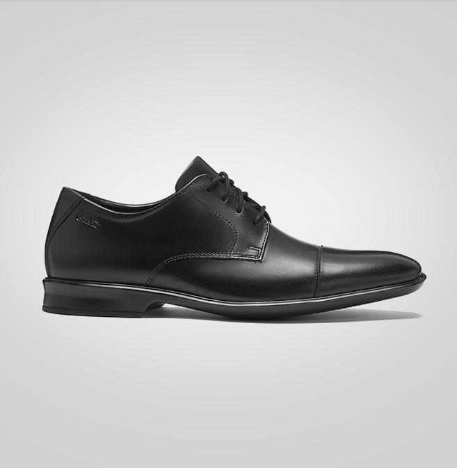 Clarks Bensley Cap 261485267 男士商务皮鞋