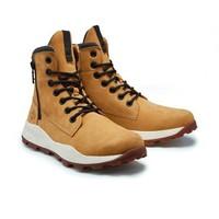Timberland 添柏嵐 A2J1E 側拉鏈高幫時尚短靴