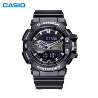 CASIO 卡西欧 G-SHOCK系列 GA-400GB-1A 男士运动手表