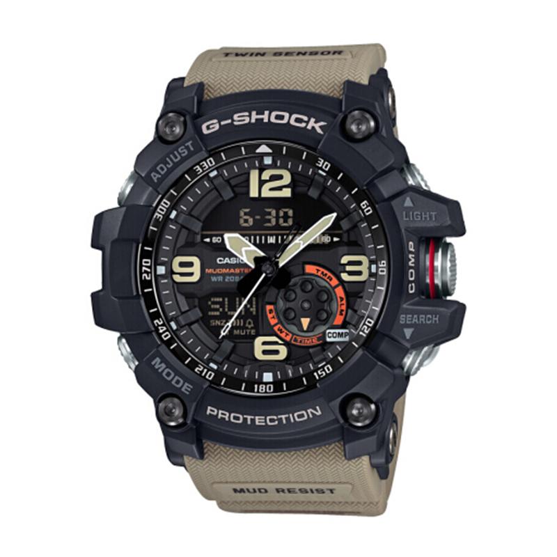 卡西欧(CASIO)手表 G-SHOCK系列 小泥王 双重感应户外运动双显 男表
