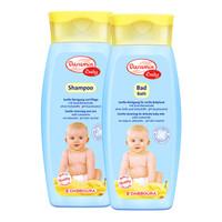 达罗咪 德国进口婴儿洗发水沐浴露2瓶装宝宝洗发露温和洁净无泪