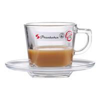 京东PLUS会员 : Pasabahce 帕莎帕琦 欧洲进口 无铅钢化玻璃咖啡杯套装 *3件