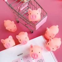 凡小熊 可爱粉色小猪解压捏捏叫 8个装