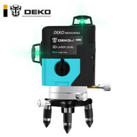 DEKO LL12-HVG 双锂电激光水平仪 12线绿光