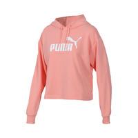 Puma卫衣女ESS+ Logo Cropped Hoody休闲套头衫844643-01 *2件