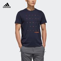 adidas 阿迪达斯 FI9152 男子户外休闲T恤