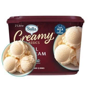 Bulla  香草味大桶装冰淇淋 2L