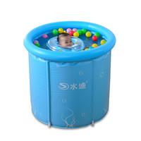 水迪支架式保温婴儿游泳桶