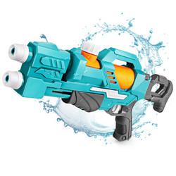 奥智嘉 大号儿童玩具水枪双头喷射高压水枪沙滩戏水玩具 男孩女孩玩具 49cm