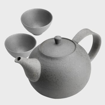 艺术北京 隈研吾《壶》黏土陶器 功夫茶具家用办公室泡茶 壶