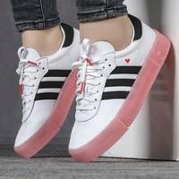 adidas 阿迪达斯 SAMBAROSE W EF4965 女款经典运动鞋