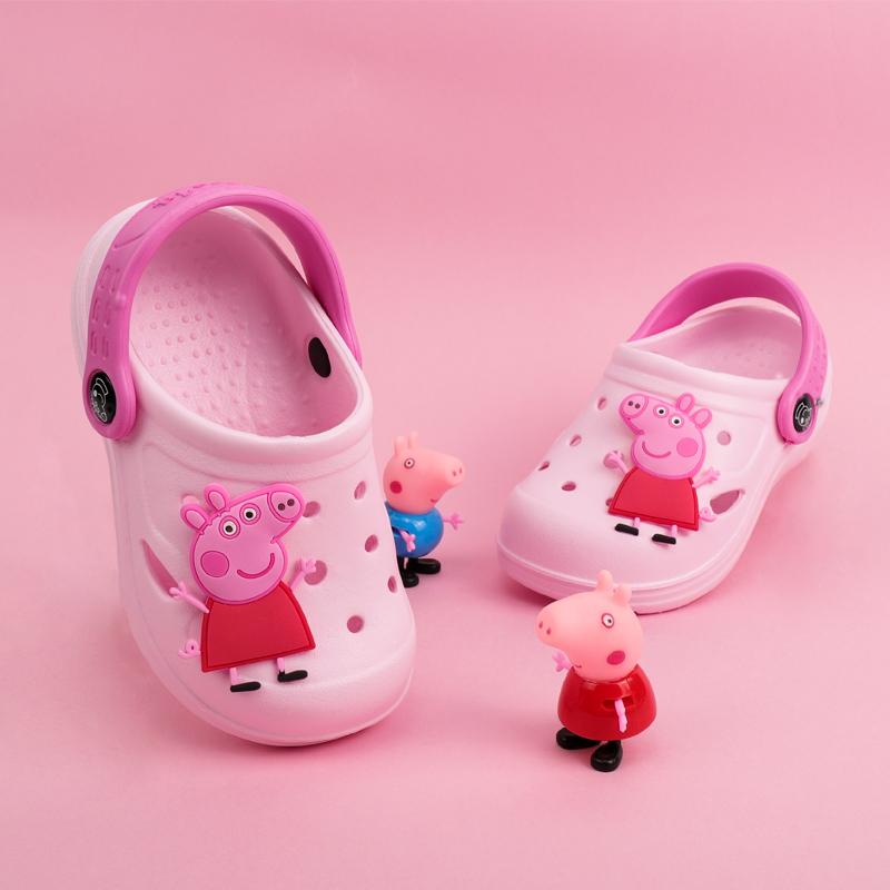 【小猪佩奇】卡通亲子儿童凉拖鞋