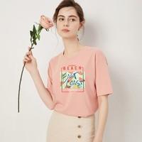 茜欧莉 9920901 女士短袖T恤