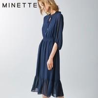 MINETTE 30219142019 雪纺连衣裙
