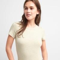 限尺码:Gap 盖璞 241902 女装 莫代尔圆领短袖T恤