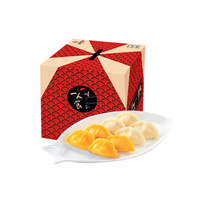船歌鱼水饺 鲅鱼黄花鱼水饺礼盒 860g青岛特色海鲜手工速冻饺子