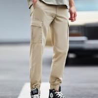 Giordano 佐丹奴 01110081 男士装束脚裤