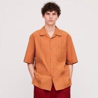 UNIQLO 优衣库 U系列 426176 古巴领衬衫