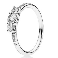 Pandora 196242CZ 925银童话之光戒指