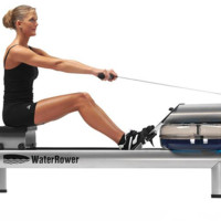 WaterRower 沃特罗伦 M1HiRise 男女款加油水阻划船机