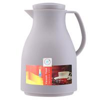 悠佳 鼎盛系列1.0L塑壳顶揿式保温瓶 灰色 ZS-9100-1-H *5件