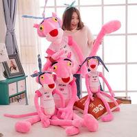 粉红豹毛绒玩具公仔抱枕布娃娃玩偶情人节生日礼物送女生闺蜜同学 经典裸体款 1米